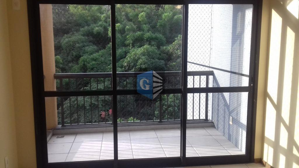 """local nobre de santa rosa - belo edifício - varanda - sala em """"l"""" - 3..."""