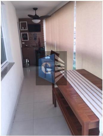 excelente apto em icaraí - sol da manhã - piso porcelanato - varandão fechada, climatizada e...