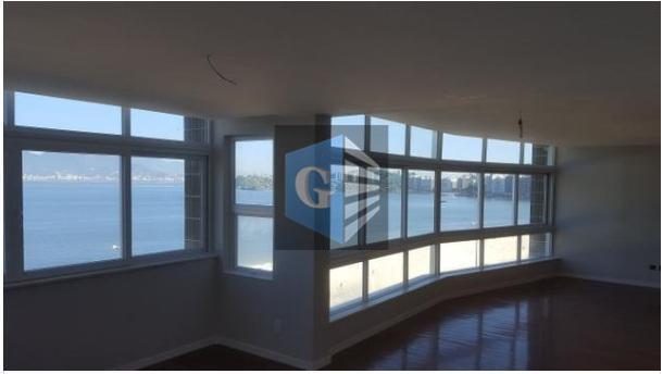 praia de icaraí -1 por andar - andar alto - reformado (novo) -montado -salão em 2...