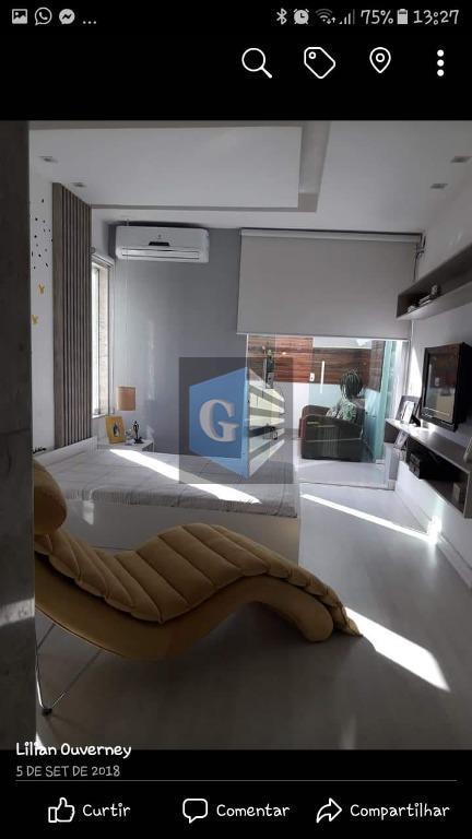 lindíssima casa triplex em condomínio alto padrão !!!!garagem para 3 carros 2 cobertos e 1 descoberto...